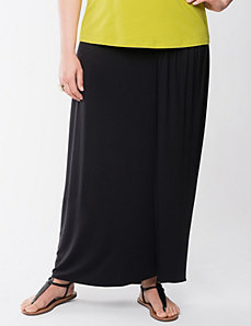 Lane Collection Grecian wrap skirt