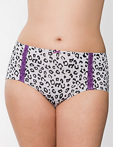 Dazzler brief panty with lace