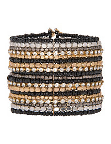 Cubic zirconium beaded bracelet by Lane Bryant