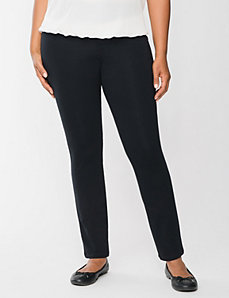 Casual french terry skinny pant by Lane Bryant