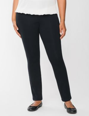 Casual french terry skinny pant