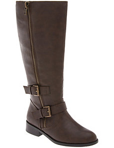 Buckled riding boot by LANE BRYANT
