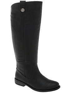 Clean riding boot by LANE BRYANT