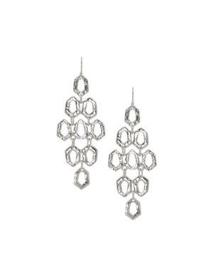 Hammered waterfall earrings by Lane Bryant