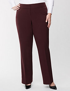 Classic leg trouser by LANE BRYANT