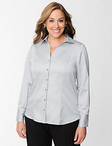 Classic collared shirt by LANE BRYANT