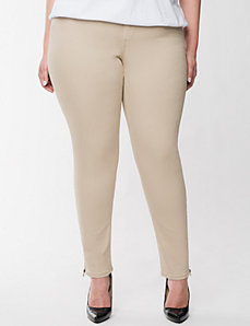 Genius Fit™ ankle zip jean by LANE BRYANT