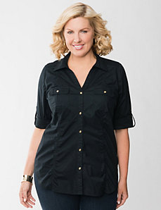 The sexy shirt by LANE BRYANT