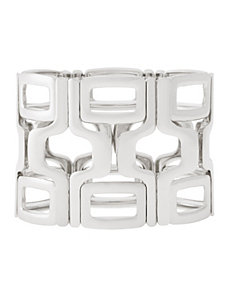 Geo square stretch bracelet by Lane Bryant