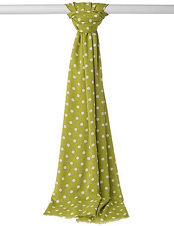 Polka dot scarf