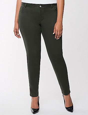 Genius Fit sateen skinny by Lane Bryant