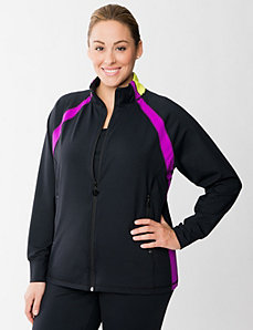 TruDry spliced active jacket by LANE BRYANT