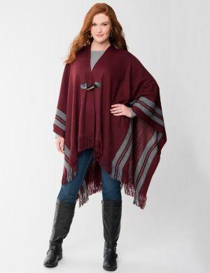 Striped cape