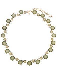 Faceted stone necklace by Lane Bryant by LANE BRYANT