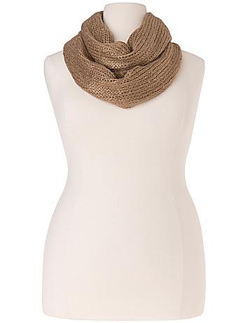 Foil eternity scarf