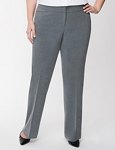 Lena tailored stretch classic leg pant by LANE BRYANT