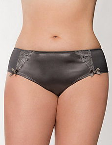 Lace-Trimmed Cheeky Panty by LANE BRYANT