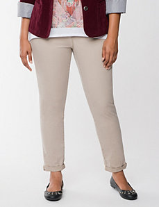 Weekend  casual chino by LANE BRYANT