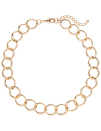 Short chain necklace by Lane Bryant