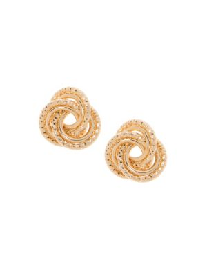 Intertwined circle earrings by Lane Bryant