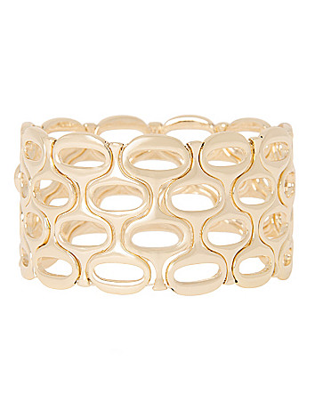 Geo stretch bracelet by Lane Bryant