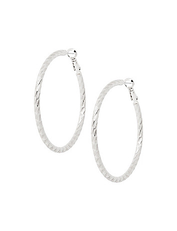 Florentine hoop earrings by Lane Bryant