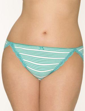 Sassy cotton string bikini