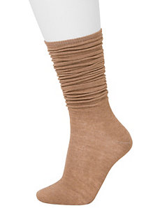 Slouchy crew socks 2-pack by LANE BRYANT