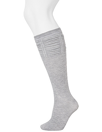 Knee socks 2-pack by Lane Bryant