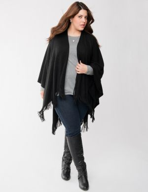 Fringed cape