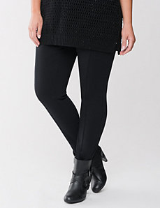 Seamed ponte skinny by LANE BRYANT