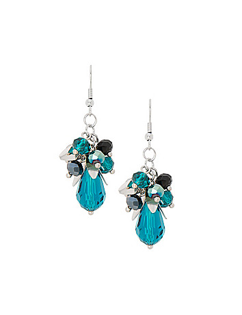 Bead cluster earrings by Lane Bryant