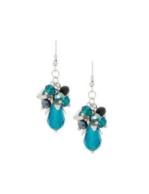 Bead cluster earrings by Lane Bryant