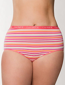 Sassy cotton brief panty by LANE BRYANT