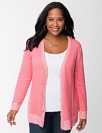 Plaited cardigan