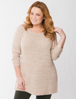 Raglan sleeve sweater