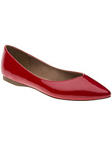 Pointed toe flat by LANE BRYANT