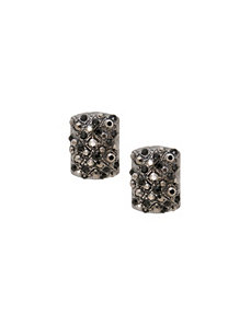 Rectangular stone post earrings by Lane Bryant