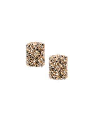 Rectangular stone post earrings by Lane Bryant