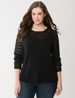 Tulip open-back sweater