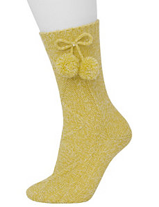 Pom pom socks by LANE BRYANT