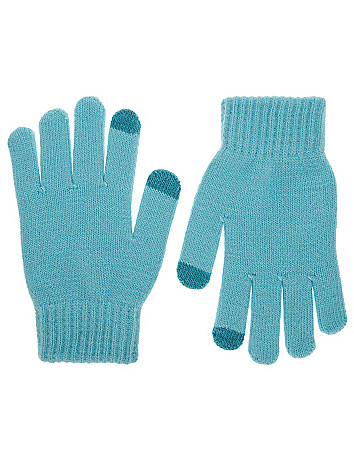 Knit gloves by Lane Bryant