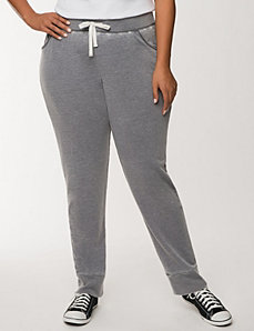 Burnout washed jogger