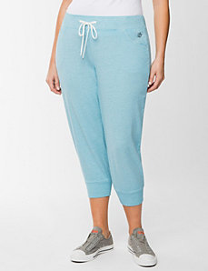 Burnout jogger capri by LANE BRYANT