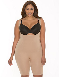 open bust bodysuit by Shape by Cacique