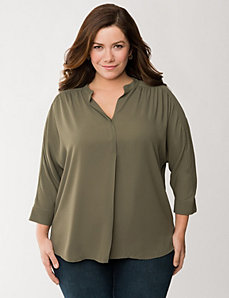 Tunic blouse by LANE BRYANT