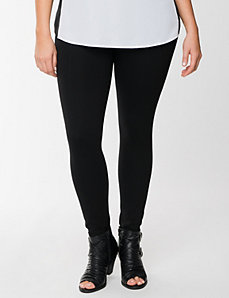 Ponte seamed legging by Lysse by LANE BRYANT