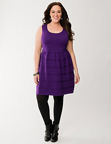 Sweater skater dress by LANE BRYANT