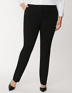 Sophie Tailored Stretch straight leg pant by LANE BRYANT