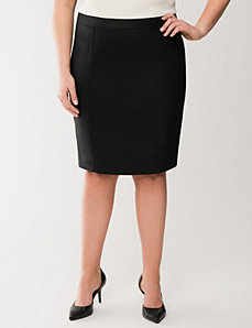 Double weave pencil skirt